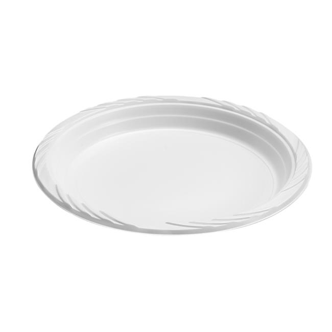 Blue Sky 100 Count Disposable Plastic Plates 9-Inch White  sc 1 st  Walmart.com & Blue Sky 100 Count Disposable Plastic Plates 9-Inch White ...