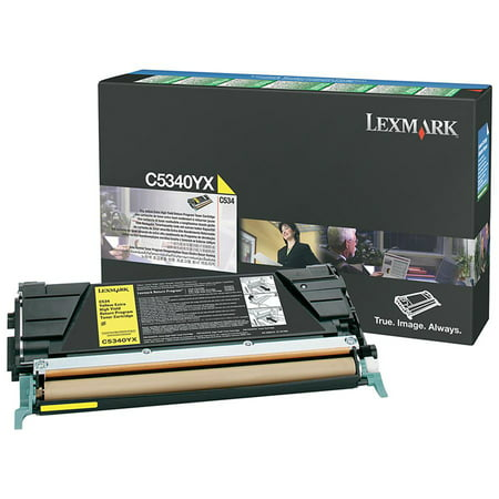 - Lexmark C534 Yellow Extra High Yield Return Program Toner Cartridge