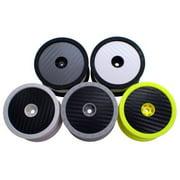 De Racing SD1CW Wheel Sticker Disk For 1/10 Buggy / Carbon Fiber White DERSD1CW