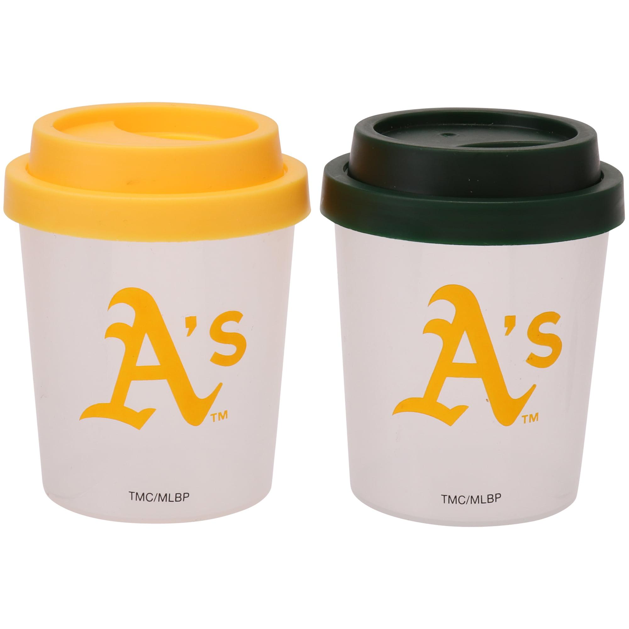 Oakland Athletics Plastic Salt & Pepper Shaker - No Size