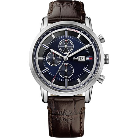 Tommy Hilfiger Cool Sport Leather Chronograph Mens Watch
