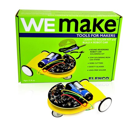 We Make Learn to Solder Kit & Build a Robot Car (Build Your Own Robot Kit)