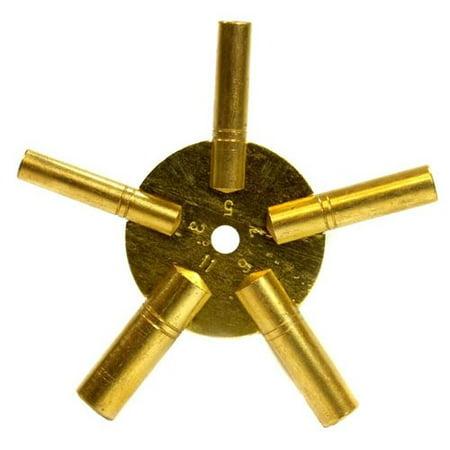 Universal Antique Grandfather Brass Clock Key Odd Brass Clock Chart Weight