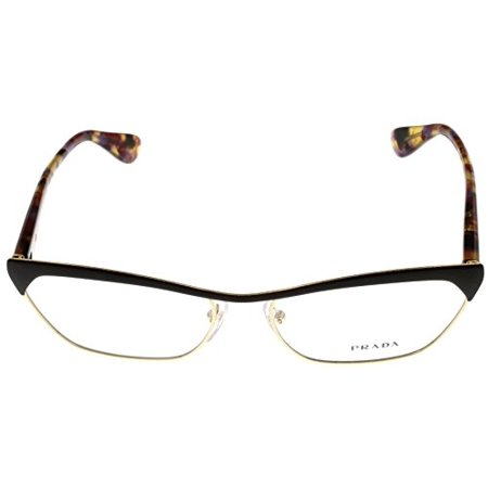 4447c365178 Prada Prescription Eyeglasses Frame Women PR57Q QE6 101 Rectangular Size   Lens  Bridge  Temple  56-16-140 - Walmart.com