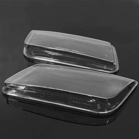 2x Plastic Headlight Lenses Cover Headlamp For VW JETTA BORA MK4 1998-2004 Lamp - image 4 de 5