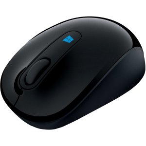 Microsoft Sculpt Mobile Mouse - BlueTrack - Wireless - Radio Frequency - Wool Blue - USB 2.0 - 1000 dpi - Tilt Wheel - 3 Button(s) - Symmetrical EN/XC/XX AMER HW WOOL BLUE