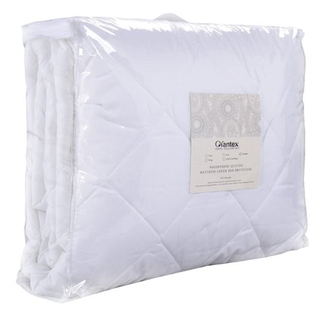 Mattress Cover Bed Topper Bug Dust Mite Waterproof Pad Protector Quilted 5 (Best Bed Bug Mattress Cover Brand)