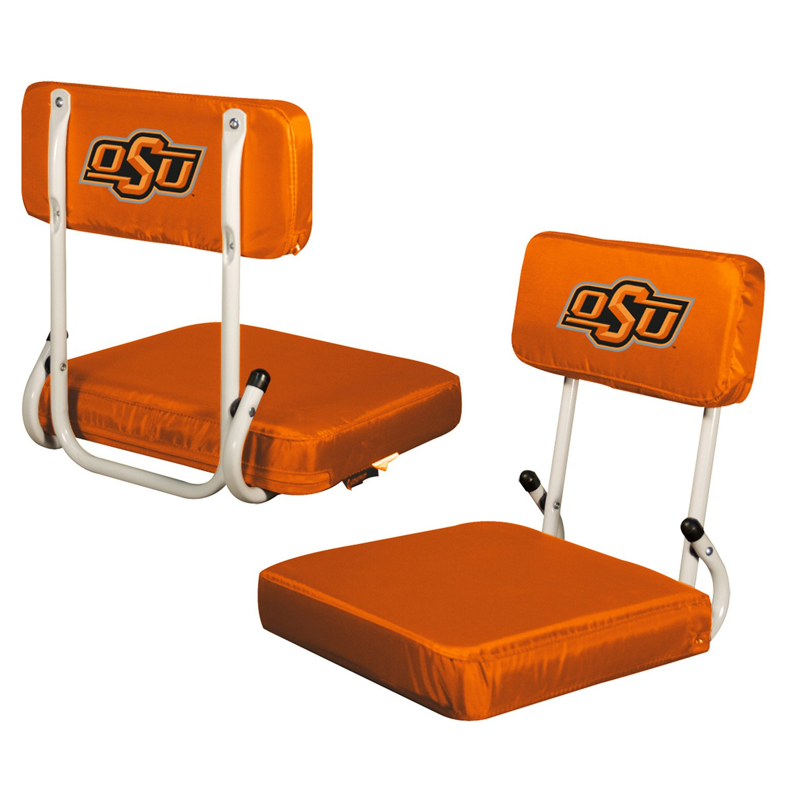 Logo Chair NCAA OK State Hard Back Stadium Seat