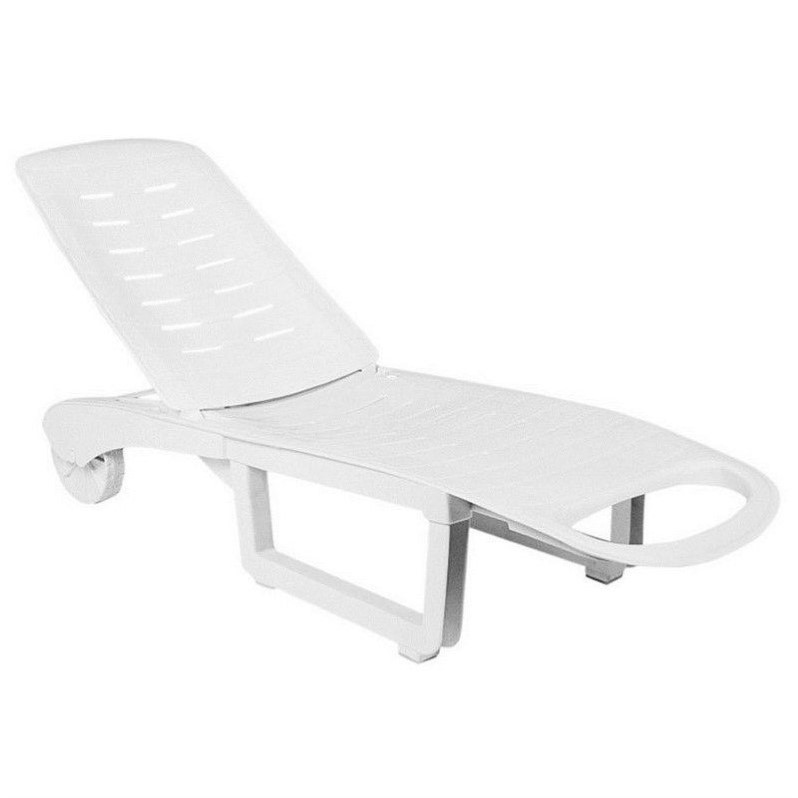 Compamia Sundance Pool Chaise Lounge in White (set of 2) by Compamia