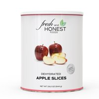 Fresh and Honest Foods 100% All Natural Dehydrated Apple Slices 19.2 OZ #10 Can
