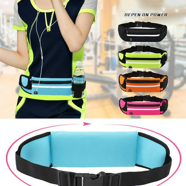 Waterproof Running Belt Gym Fitness Travel Waist Pouch Bum Bag Men Women