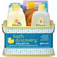 Deals on JOHNSON'S BATH DISCOVERY Baby Gift Set, 8 Items