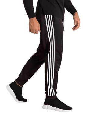 0728f507 Product Image Vibes Mens Black Tricot White Stripes Seam Rib Bottom Jogger  Pants