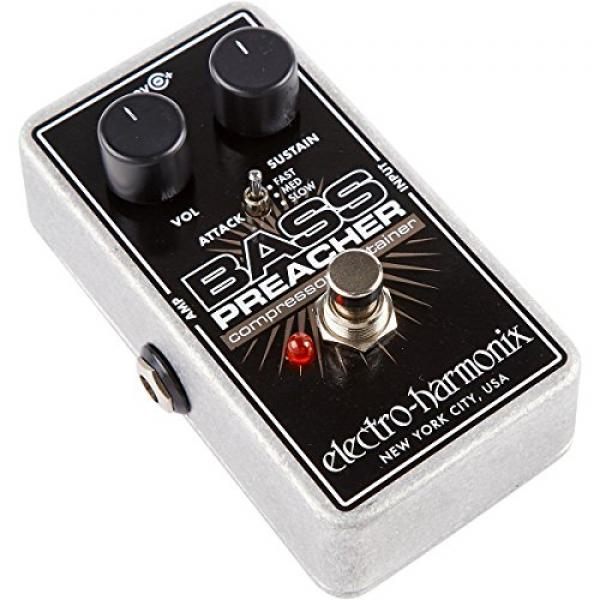 Electro-Harmonix Bass Preacher Bass Compressor Sustainer Pedal by