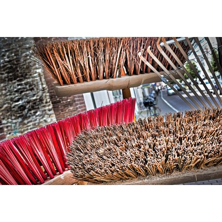 LAMINATED POSTER Garden Tools Work Faceplate Tool Broom Computing Poster Print 24 x 36 ()