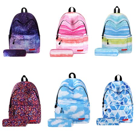 Voomwa - Women s Star Pattern Backpack Schoolbag Custom Backpack For  Primary School Students - Walmart.com 2920cd72e2
