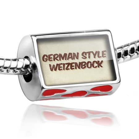 Bead German Style Weizenbock Beer, Vintage style Charm Fits All European - German Style Beer