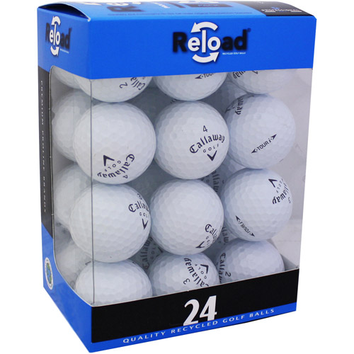 Reload Recycled Golf Balls 24pk Recycled Tour I Golf Balls