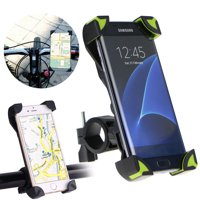 Motorcycle Bicycle Handlebar Holder Mount for Smartphones PDA and GPS, fit Device Width 4.5 -7.1 inch, for Samsung Galaxy S10E/S10/S9/S8/S7 Plus, iPhone 11/11 Pro XS Max XR X 8 Plus and more