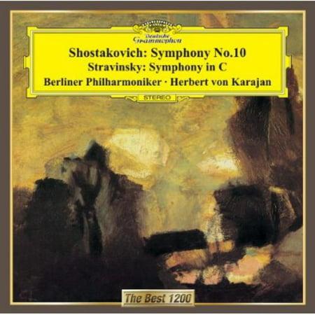 Shostakovich: Symphony No. 10/Strav (CD)