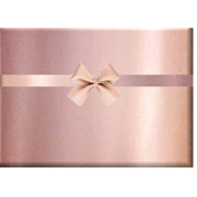 True Rose Gold Shinny Gloss Metallic Gift Wrapping Paper Roll for Birthday, Holiday, Wedding, Baby Shower Gift Wrap - 30 inch x 15 feet - Solid Rose Gold