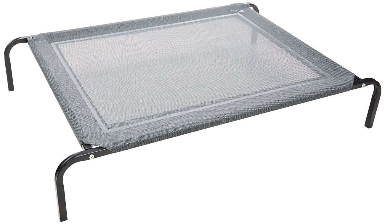 oxgord travel gear approved steelframed portable elevated pet bed black walmartcom - Elevated Dog Beds