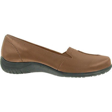 Women's Easy Street Purpose - Medium Brown Patent Footwear