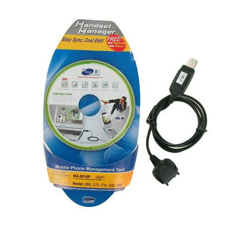 Mobile Action MA-8816P Handset Manager Software & USB for Nextel i65/i275/i730/i830/i860