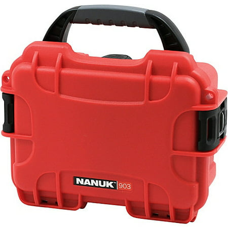 Nanuk 903-1005 Hard Plastic Waterproof Case with cubed foam insert
