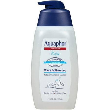 Aquaphor Bébé Wash & Shampooing 16.9 fl. oz