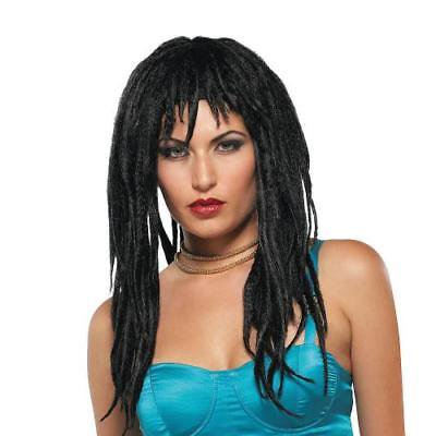 IN-13636158 Black Demure Dreads Wig - Wig Dreads