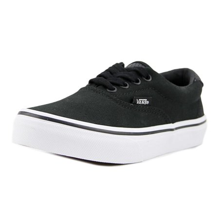 Vans (Vintage Sport) ERA 59 Youth  Round Toe Leather Black Sneakers for $<!---->
