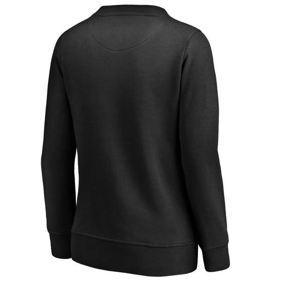 Buffalo Bills NFL Pro Line by Fanatics Branded Women s Arch Smoke Crew Neck  Fleece Sweatshirt - Black - Walmart.com fc6e206d7