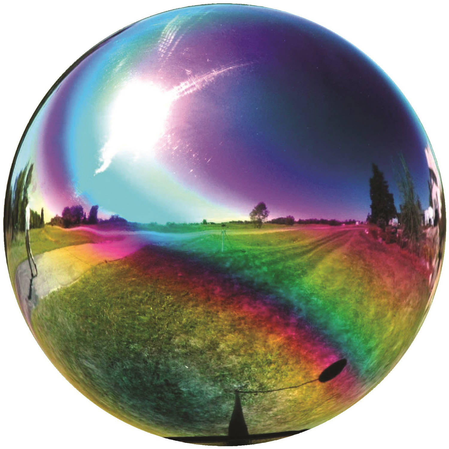 "Very Cool Stuff 10"" Globe, Rainbow"