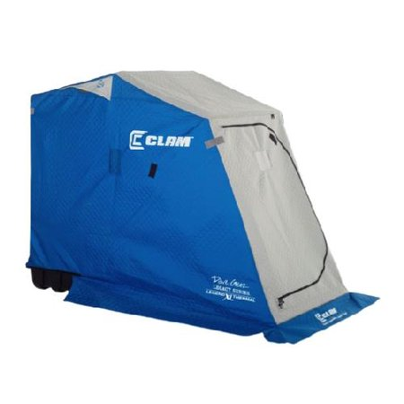 Clam outdoor ice fishing 9679 dave genz legacy series for Clam ice fishing shelters