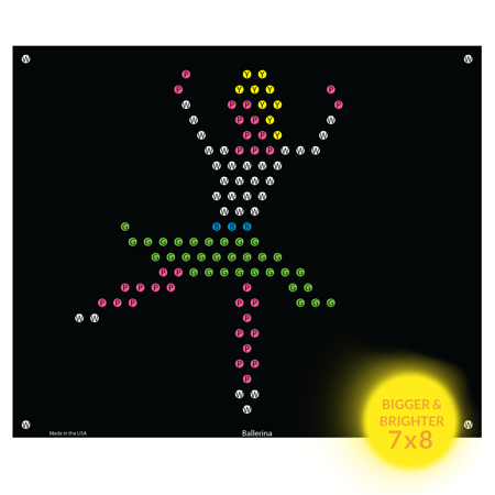 Lite Brite Refill: Little Miss for Ultimate Classic - NOT FOR OLDER LITE BRIGHT TOY](Betty Brite)