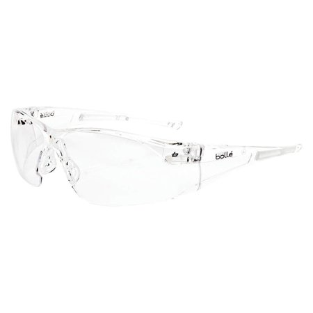 Rush Anti-Fog, Scratch-Resistant Safety Glasses, Clear Lens Color - 1 Each, Taiwan By Bolle'
