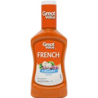 Great Value Creamy French Dressing, 16 oz