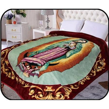 Jcp Hometex Inc  Hiyoko Holymother Virgin Mary Mink Blanket