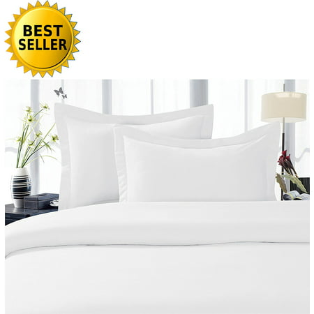 Celine Linen Best, Softest, Coziest Duvet Cover Ever! 1500 Thread Count Egyptian Quality Luxury Super Soft WRINKLE FREE 3-Piece Duvet Cover Set , Full/Queen, -