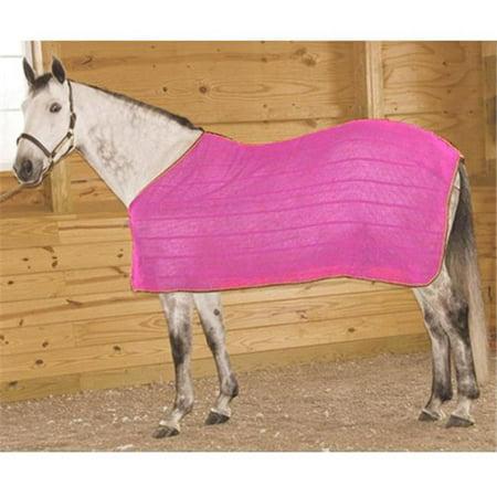 High Spirit Horse Equipment PIKSMPK Irish Knit Anti Sweat Sheet, Pink -