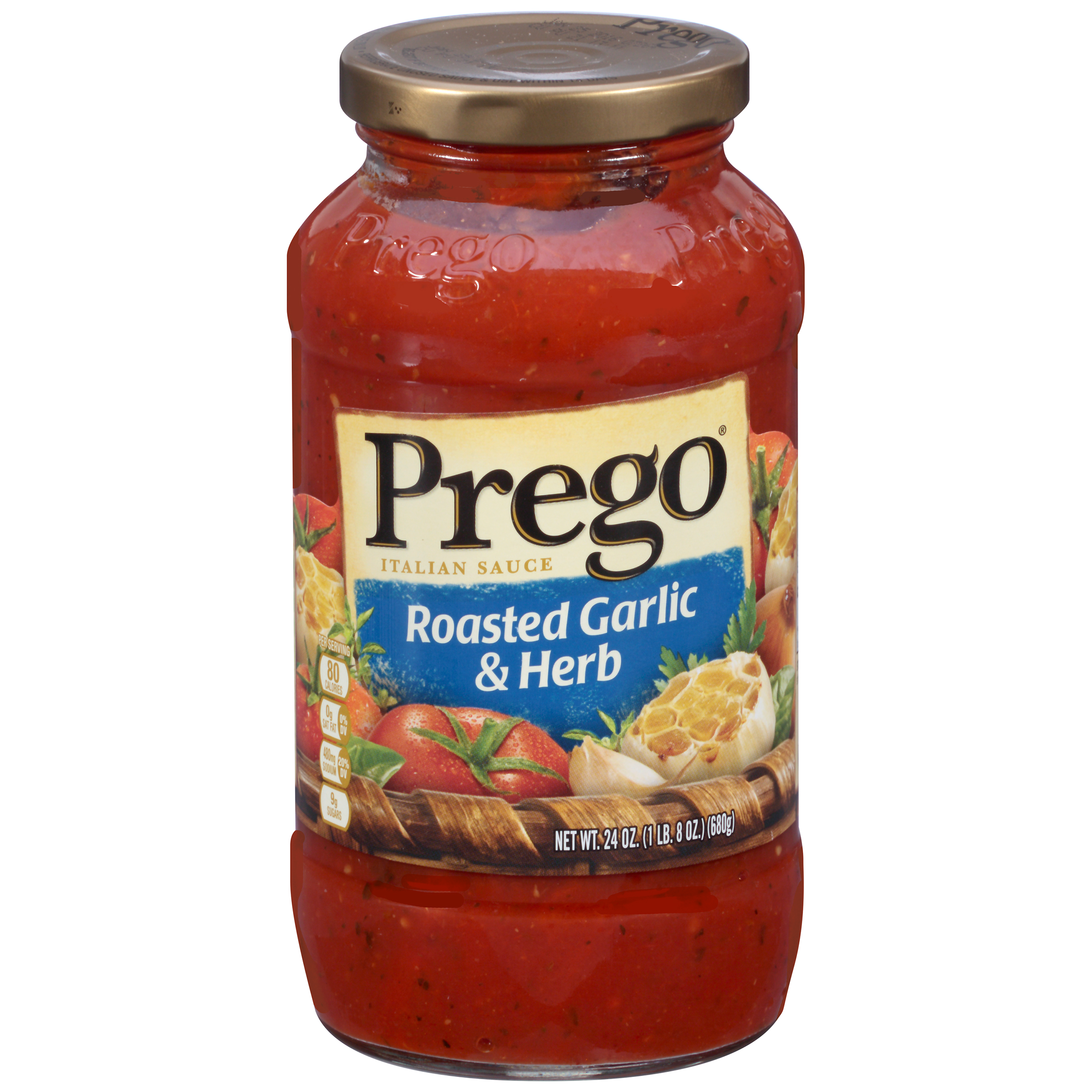 Prego Roasted Garlic & Herb Italian Sauce 24oz