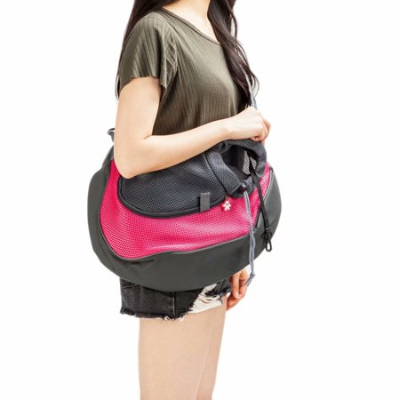 Comfort Pet Dog Cat Puppy Carrier Travel Tote Shoulder Bag Sling Backpack for Small Dogs ()