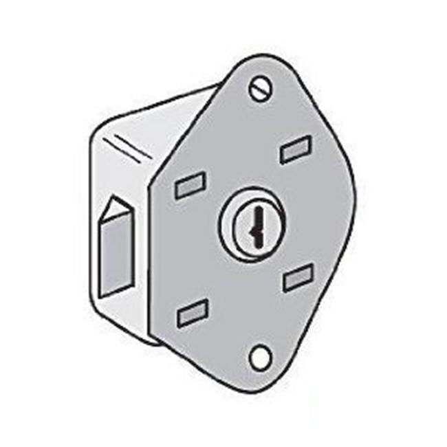 Key Lock - Built-in for Heavy Duty Storage Cabinet Door