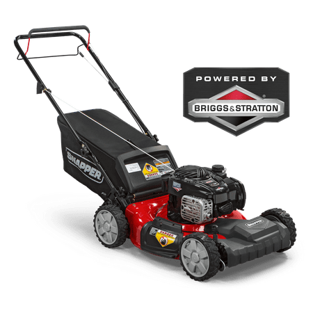 Snapper 21'' Front-Wheel Drive Self Propelled Gas Lawn Mower with Side Discharge, Mulching, and Rear