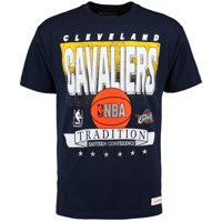 Cleveland Cavaliers Mitchell & Ness Set Shot Traditional T-Shirt - Navy