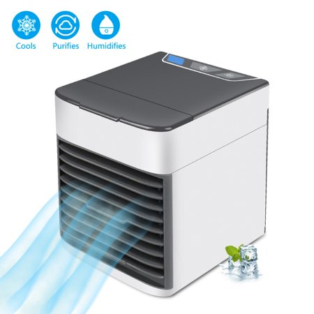 Mini Air Cooler Portable Air Conditioner Home USB Small Fan With Colorful - Aio Usb