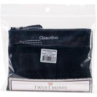 "ChiaoGoo TWIST Red Lace Intchg Knitting Needle 5"" Tip Set-Mini Complete"