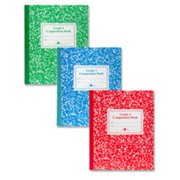 Roaring Spring Paper Products ROA77922 Composition Book- Grade 3 Ruled- 50 Sheets- 9-.75in.x7-.75in.- Blue