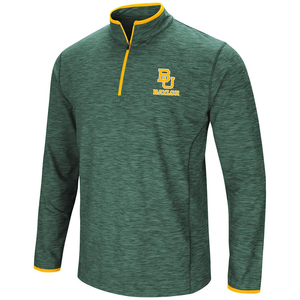 Mens Baylor Bears Quarter Zip Wind Shirt - S